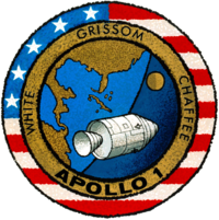 Apollo 1 logotipas