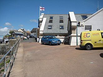 Appledore Lifeboat Station - The lifeboat station from the side