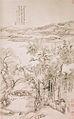 Arbre en automne et corneilles 1712 par le peintre chinois Wang Hui.jpg