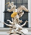 Archangel Michael - Portal of Saint Michael Church, Vienna, Austria - 29 May 2010.jpg