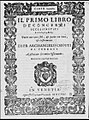 Archangelo Crotti - Primo Libro de' Concerti (Venice, 1608) - title page.jpg