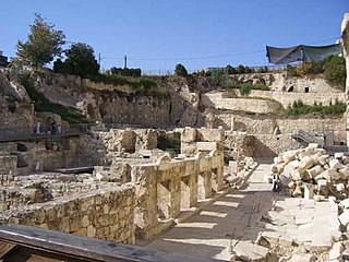 Excavations at the Temple Mount Wikimedia list article