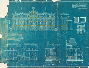 Architectural drawing from the Engetrim archive, ref. obj-0000186