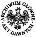 Archiwum Główne Akt Dawnych logo gray.png