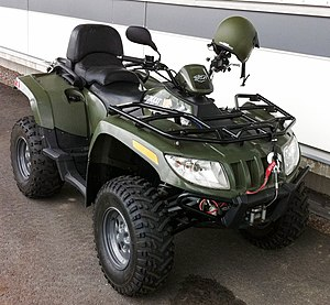 Arctic Cat - Arctic Cat ATV in use by the Finnish Border Guard