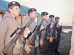 Argentinean Army soldiers with Steyr AUG rifles in 1986..jpg