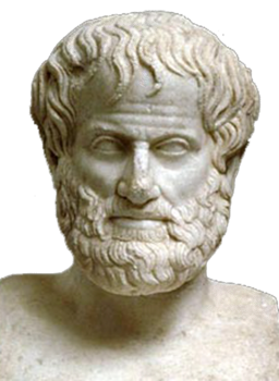 Aristotle Bust White Background Transparent