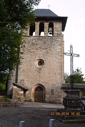 Arques, Aveyron - The Church Tower with the Bronze Bell