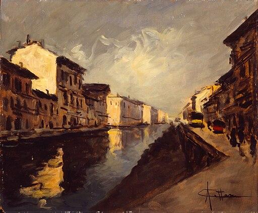 Artgate Fondazione Cariplo - Cattaneo, Il Naviglio a Porta Ticinese