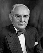 photo: Senator Arthur Vandenberg