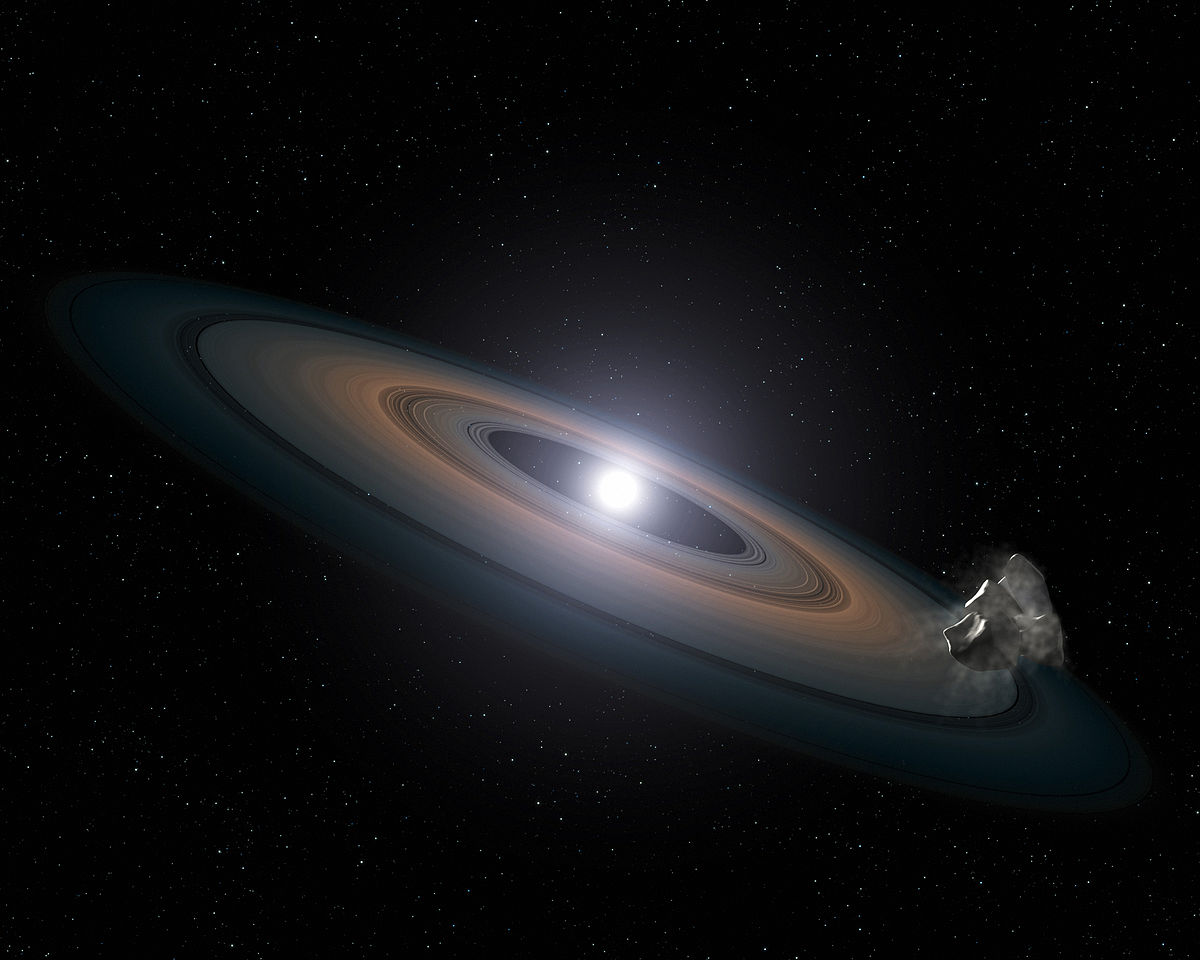 Artist's impression of debris around a white dwarf star.jpg