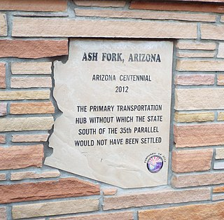 Ash Fork, Arizona CDP in Arizona, United States