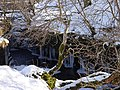 Ash Gill in winter complete with icicles - geograph.org.uk - 1160979.jpg