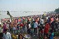 Assembled Devotees - Chhath Puja Ceremony - Baja Kadamtala Ghat - Kolkata 2013-11-09 4241.JPG