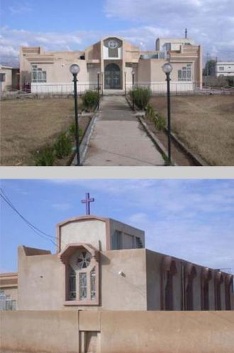Assyrian independence movement - Church Of Martyrs - named after the massacre stands today in the town of Simele.