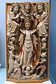 Assumption and Coronation of Mary, England, late 15th century, alabaster with polychrome and gilding - Cinquantenaire Museum - Brussels, Belgium - DSC08567.jpg