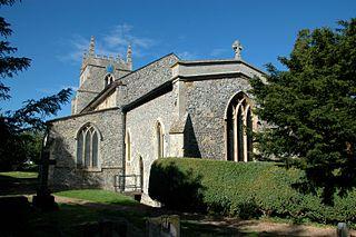 Aston Rowant Human settlement in England