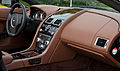 Aston Martin V8 Vantage Roadster (Facelift) – Innenraum (1), 26. Oktober 2012, Düsseldorf.jpg