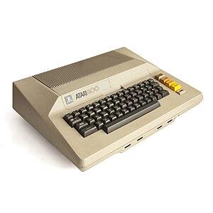 Atari 800 8-bit home computer.