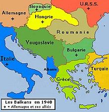 Carte Italie Balkans.Balkans Wikipedia
