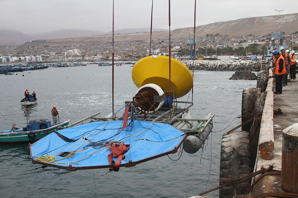 list of wave power projects