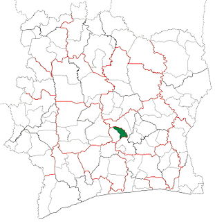 Attiégouakro Department Department in Yamoussoukro, Ivory Coast