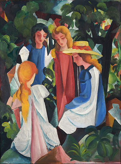 August Macke - Four Girls - Google Art Project.jpg
