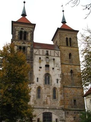 Auhausen - Monastery at Auhausen