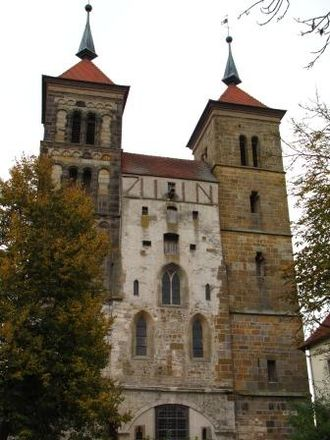 Auhausen - Monastery at Auhausen