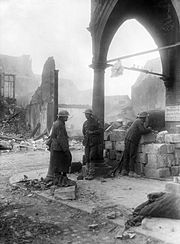 Aus 2nd Division troops in Bapaume Mar 1917