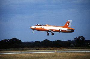 No. 25 Squadron RAAF - An RAAF Aermacchi MB-326, flown by No. 25 Squadron until 1998