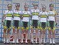 Australian national team at Thuringen Rundfahrt 2014.jpg