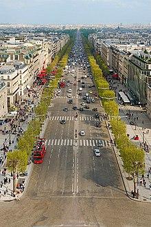Avenue des champs lys es wikip dia - L eclat de verre paris ...
