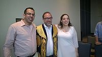 Avner and Darya's wiki Wedding at Wikimania by ovedc 35.jpg