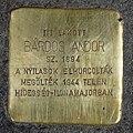 Bárdos Andor stolperstein (Budapest-07 Akácfa u 59).jpg