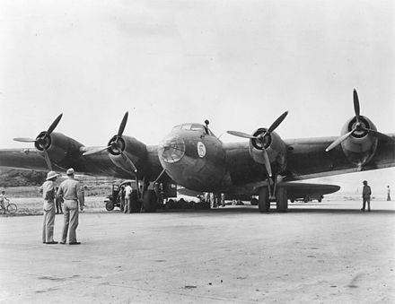 XC-105 &quotGrandpappy&quot in Panama - Boeing XB-15