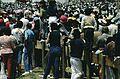 B02 Ecuador 050a people at Papal mass, Quito, January 1985.jpg