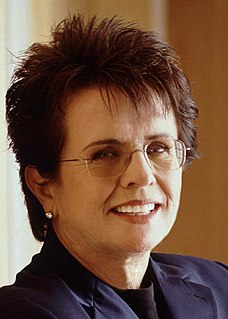Billie Jean King retired American professional tennis player