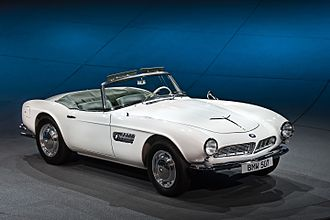 BMW Z8 - The Z8 was an homage to the iconic BMW 507