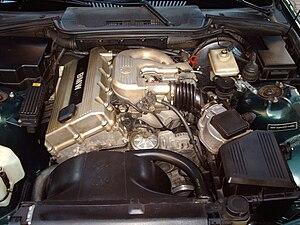 BMW M42 - Image: BMW M42B18 Motor
