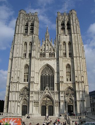 Roman Catholic Archdiocese of Mechelen-Brussels - St. Michael and St. Gudula Cathedral, Brussels
