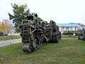 BTM ditching machine, National Museum of Military History, Bulgaria.jpg