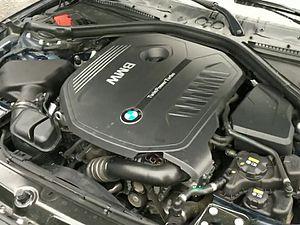 BMW B58 - Image: B 58 engine on Bmw 340i