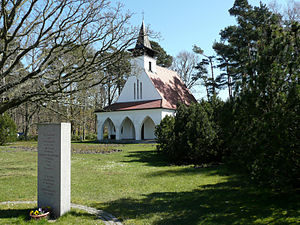Baabe - The Evangelic Church (built 1929/30) in Baabe