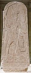 stèle de Baal au foudre