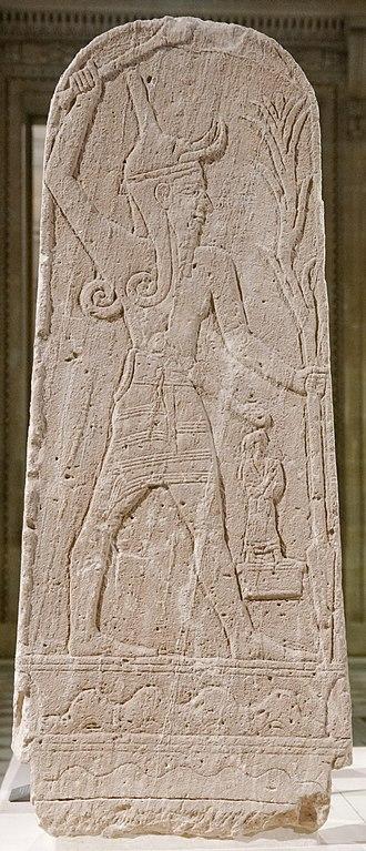 Baal - Image: Baal thunderbolt Louvre AO15775