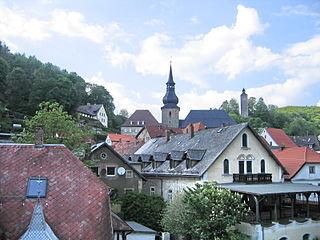 Bad Berneck im Fichtelgebirge Place in Bavaria, Germany