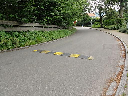 Bad Säckingen — Speed bumps