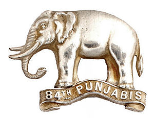 84th Punjabis - Image: Badge of 84th Punjabis