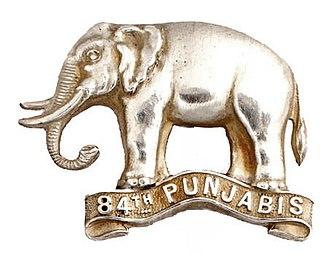 84th Punjabis - Image: Badge of 84th Punjabis
